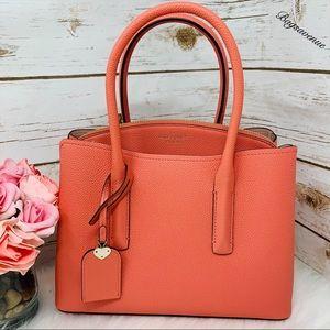 Kate spade Margaux medium satchel peachy crossbody